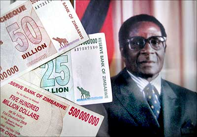 Robert Mughabe & Zimbabwe Currency